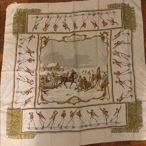 """Hermès scarf """"Les Plaisirs du Froid"""""""